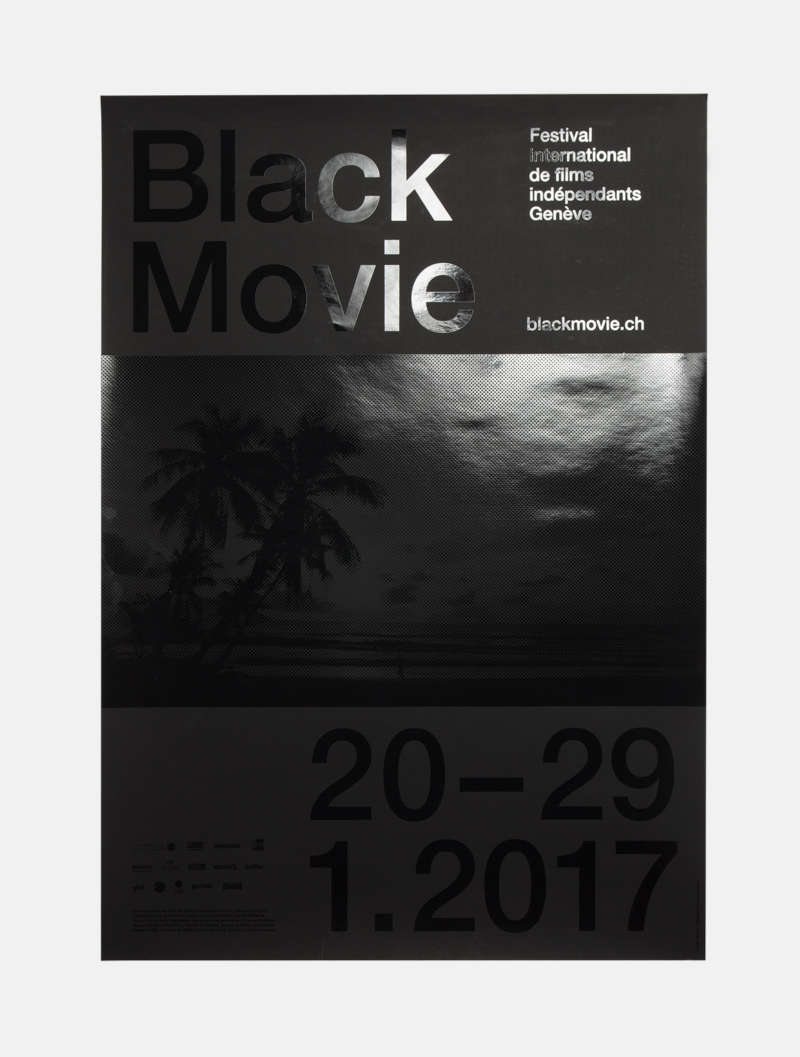 Neo Neo - Graphic Design - Switzerland - Graphisme - Genève - Geneva - Suisse - Typography - affiches - posters - Black Movie