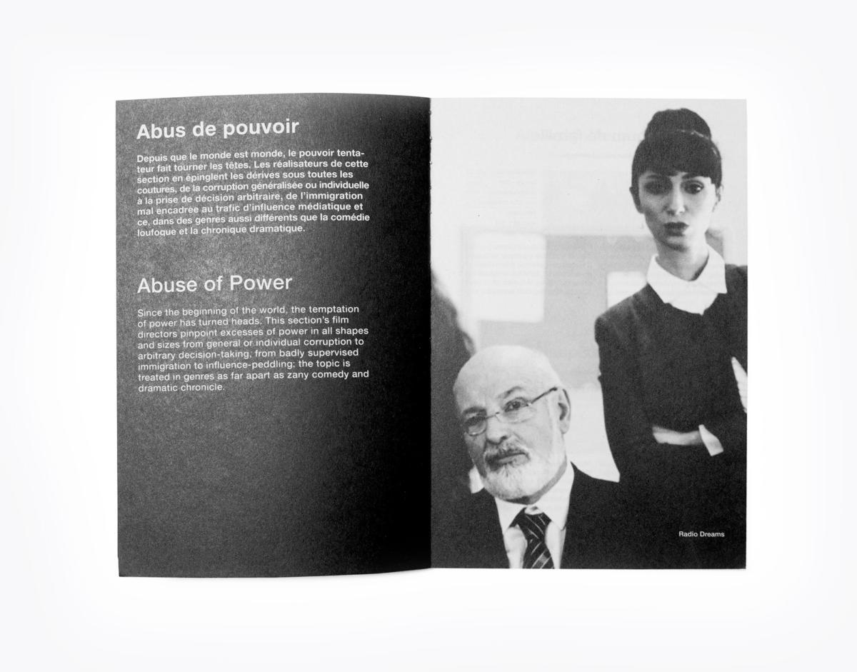 Neo Neo - Graphic Design - Switzerland - Graphisme - Genève - Geneva - Suisse - Typography - affiches - posters - Black Movie